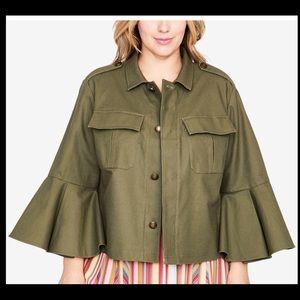 RACHEL Rachel Roy Trendy Bell Sleeve Jacket 2018
